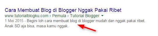 Tutorialblogku.com di Google